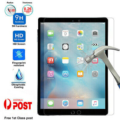 AU9.29 • Buy Tempered Glass Screen Protector 9H Clear HD For Apple IPad  8 7th Gen 10.2  AUS
