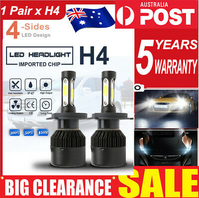AU23.79 • Buy For Toyota Land Cruiser H4 9003 LED Headlight Hi-Low Beam Replacement Bulb 2000W