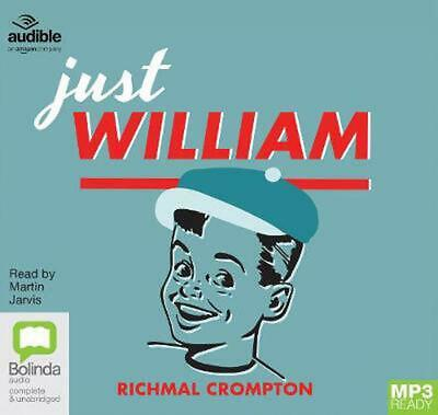 Just William By Richmal Crompton (English) Free Shipping! • 16.99£