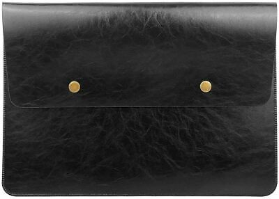 AU25.83 • Buy Retro Leather Laptop Sleeve For 13-Inch MacBook Pro 2016-2020and13-Inch(Black)