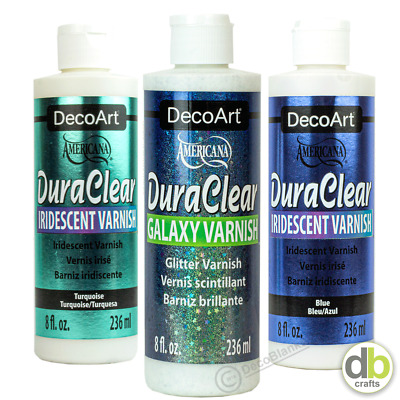 £11.50 • Buy DecoArt DuraClear Varnishes Matte Satin High Gloss Soft Touch StrarLite Triple