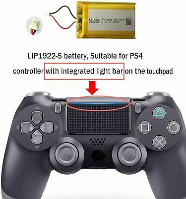 AU66.27 • Buy Battery For Sony Play-station 4 PS4 Controller Battery Replacement (3.7-V)