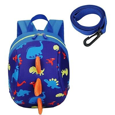 Cosyres Toddler Dinosaur Baby Backpack With Reins, Kids Safety Harness Backpa... • 18.14£