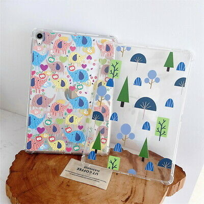 Tablet Case For IPad Air 4 10.9'' 2020 Drop Protect Cute Pattern Soft TPU Shell • 9.16£