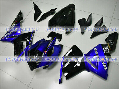 $519.48 • Buy Fairing Kit Fit For 2004 2005 ZX10R ABS Plastic Injection Bodywork Blue Black #1