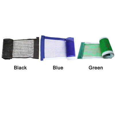Table Tennis Net Universal Sport Supplies Strong Mesh Playing Portable Foldable • 5.01£