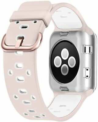 AU37.11 • Buy 42mm Replacement Band For Apple Watch Nike+, Series 3, Light Violet/White