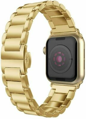$ CDN58.21 • Buy 38mm Stainless Steel Band Metal Strap Replacement For Apple Watch Series 1, Gold