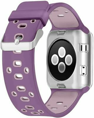 AU36.73 • Buy 42mm Replacement Sport Band For Apple Watch Nike+ - Violet Dust/Plum Fog