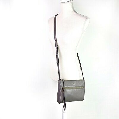 $ CDN44.66 • Buy Kate Spade Cobble Hill Cayli Grey Crossbody Bag Purse