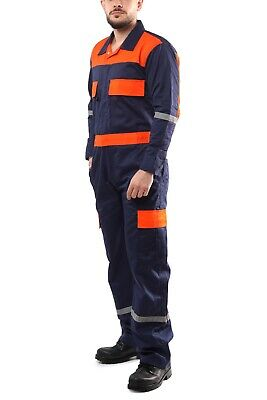 $29.99 • Buy Kolossus Deluxe Long Sleeve Cotton Blend Coverall Enhanced Visibility KC01