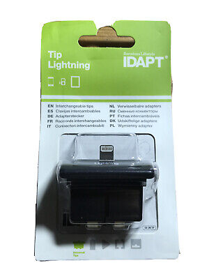 Lightning IDAPT Interchangeable Charger Tip - For IPhone Ipad IPod - OB TIP IP5 • 2.99£