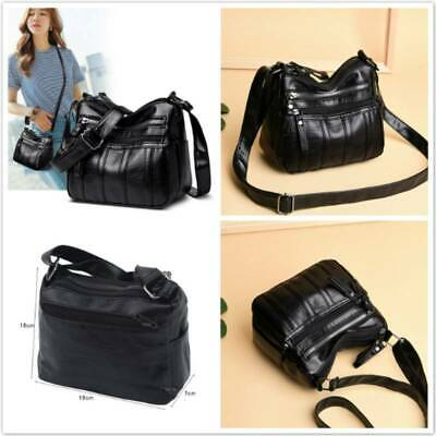 $ CDN11.76 • Buy Women Faux Leather Handbags Shoulder Bag Cross Body Messenger Bags Tote HD