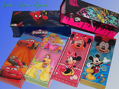 £3.26 • Buy Pencil Box Cover Case Spider Man Monster High Disney Cars Mickey Minnie Mouse