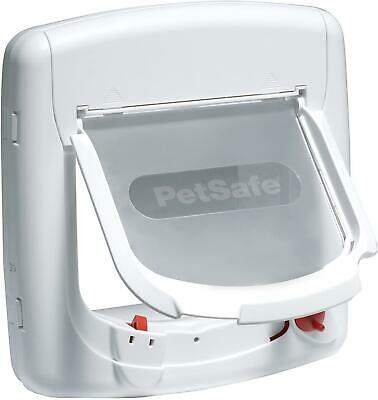 PetSafe Staywell, Deluxe Magnetic Cat Flap, White, Selective Entry,4 Way Locking • 37.70£