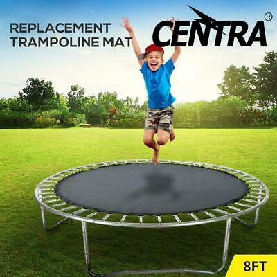 AU42.50 • Buy 8 FT Kids Trampoline Pad Replacement Mat Reinforced Outdoor Round Spring Cover