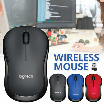 AU16.49 • Buy Logitech Optical Wireless Mouse USB Receiver Gaming Mice For PC Laptop Mac IPad