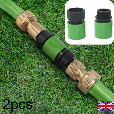 3/4  Female & Male Hose Pipe Fitting Set Garden Water Connector Quick Adaptor UK • 4.74£