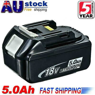 AU39.99 • Buy 18V 5.0AH LXT Battery For Makita BL1830 BL1840 BL1850 Lithium Ion Cordless Tools