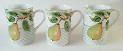 Marks And Spencer Fruit Orchard Mugs X 3 • 34.50£