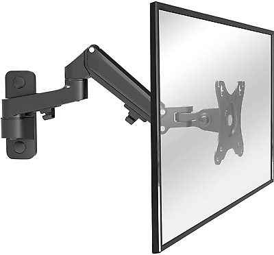 WORLDLIFT Monitor Arm Wall Mount Bracket For PC Monitor TV - To Fit Screens 17 • 39.73£