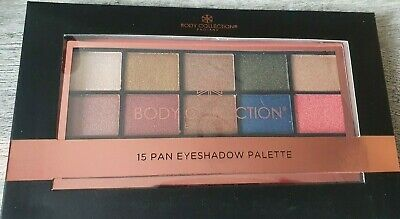 Body Collection 15 Eyeshadow Palette Make Up Boxed Vegan New • 6.99£