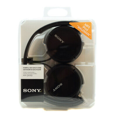 Sony Over Ear Sound Monitoring Headphones - Black - ZX110FB • 13.99£