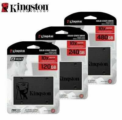 Kingston 120GB 240GB 480GB 960GB SATA III  A400 SSD 2.5   Solid State Drive  • 62.99£