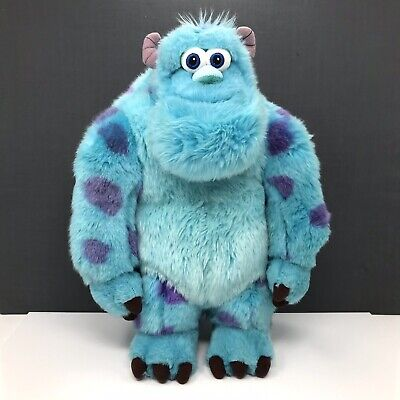"""Disney Store Sully (Monsters Inc) Stamped Soft Plush Toy 16"""" • 20£"""