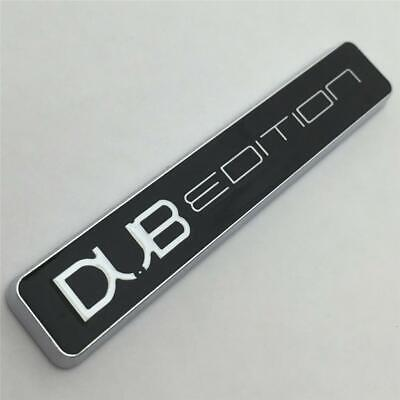 £6.49 • Buy CHROME DUB EDITION Car Badge Aftermarket NEW GTI T4 T5 GT Turbo