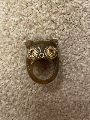 £70 • Buy Marc Jacobs Owl Ring - Rare - For A Small Finger