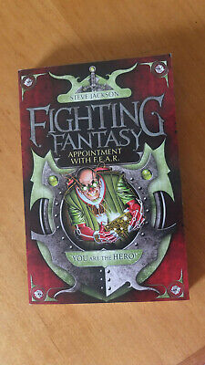 AU40 • Buy Appointment With F.E.A.R Fighting Fantasy 16 Wizard Books Series 2 Steve Jackson