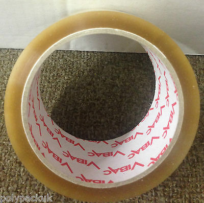 £4.99 • Buy Vibac Solvent Clear Tape 66m X 48mm Qty 1,  Parcel Packing Packaging