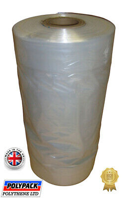 £9.99 • Buy Clear Polythene Garment Covers Plastic Film Dry Cleaners Bags Clothes Uk Made!!!