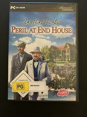 Agatha Christie: Peril At End House - PC Windows Hidden Object Game • 10.80£