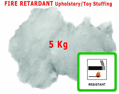 £19.99 • Buy 5KG Upholstery Stuffing For Toy Cushions Fibre Polyester All Crafts Hollowfibre
