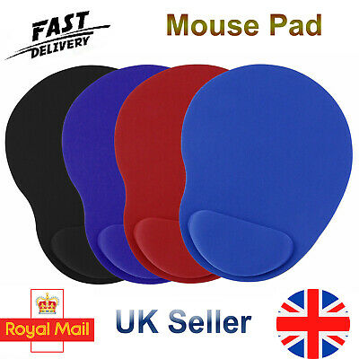 £4.99 • Buy Anti-slip Mouse Pad Mat With Foam Wrist Support Pc & Laptop Computer Uk Seller