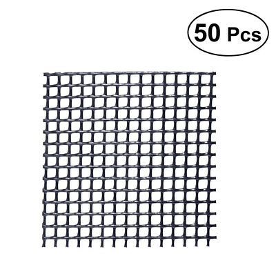 $ CDN9.76 • Buy 50Pcs Hollowed-out Plastic Anti-corrosion Planter Net Pad Mesh For Flower Pots