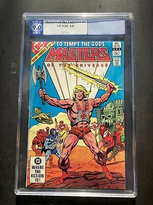$100 • Buy Masters Of The Universe Comic #1 (1982) PGX 9.0 White Pages Heman DC