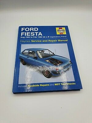Haynes Ford Fiesta Service And Repair Manual • 3.50£