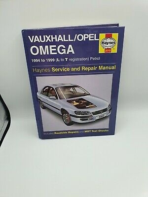 Haynes Vauxhall/Opel Omega Service And Repair Manual • 6£