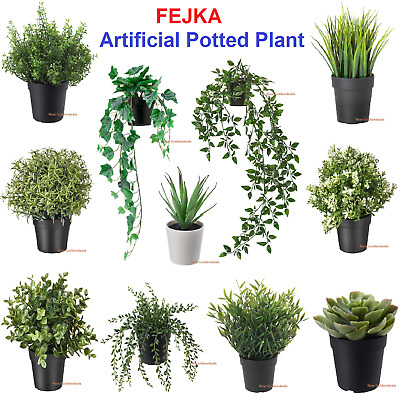 IKEA FEJKA Artificial Potted Plant, In/Outdoor Plants Long Lasting Potted Plant  • 11.85£