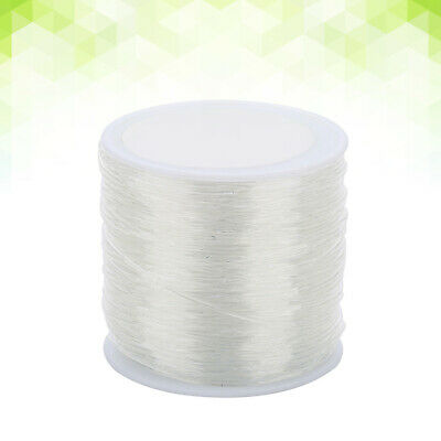 $ CDN8.66 • Buy 1mm Elastic Stretch Cord Clear Durable Threads String Cords For Bracelet