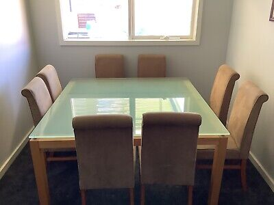 AU300 • Buy Beautiful 8 Seater Dining Table And Chairs