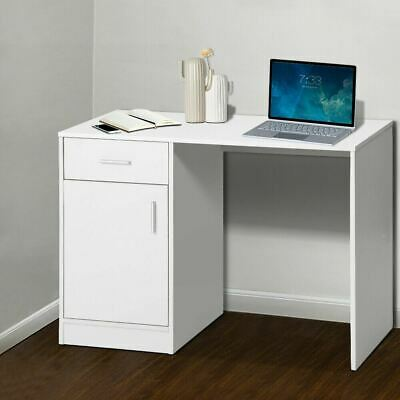 AU63.90 • Buy WHITE Home Office Computer Study Desk Drawer Storage Cabinet Easy Clean NEW