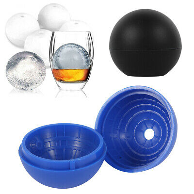 3D Star Wars Ice Cube Round Ball Mould Tray Desert Sphere Death Party DIY HL • 6.19£