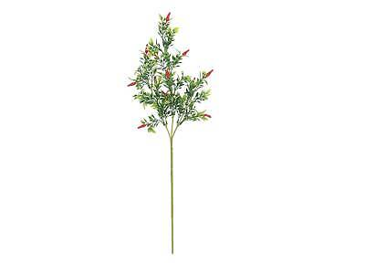 Artificial Chilli Branch JACINTA, Red Chillies, 3ft/100cm - Artificial Vegetable • 6.90£