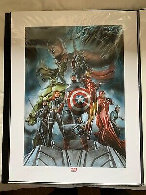 Sideshow Art Print - The Avengers Earths Mightiest Heroes • 100£