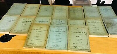 £95 • Buy Journals Of The Royal Agricultural Society Of England 17 Parts From 1883-1900