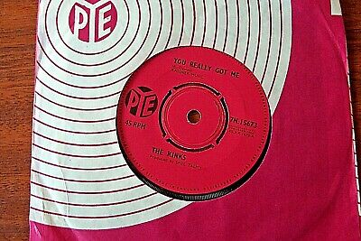 The Kinks  You Really Got Me B/w It's Alright  Ex+ Pye 7N.15672 From 1964 • 3.99£